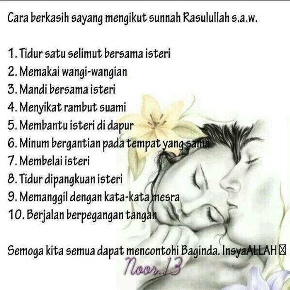 Kasih sayang suami isteri