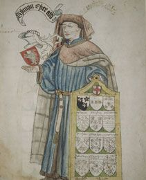 Simon Eyre, Lord Mayor of London 1445-1446, in alderman's robes