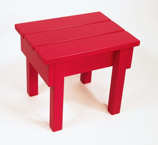 Cute red stool from instructables and directions on how to make!  Sweet!