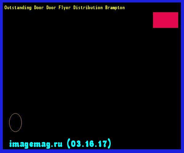 Outstanding Door Door Flyer Distribution Brampton 101138 - The Best Image Search