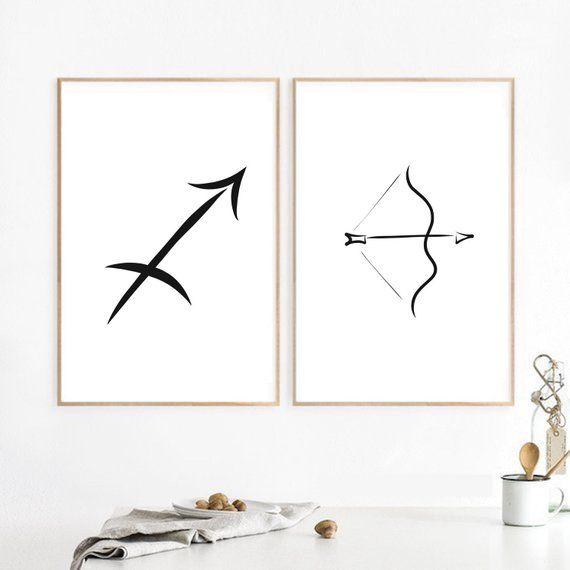 Sagittarius Constellation Art Print Star Sign Print Sagittarius Wall Art Astrolog Sagittarius Constellation Art Constellations Art Print Constellation Print