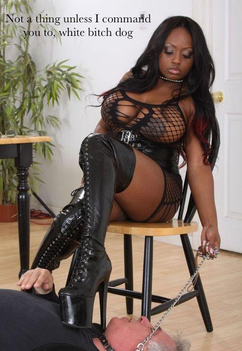 Black dominate women seeking submissive white men