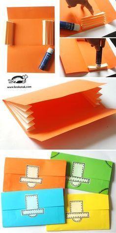 DIY paper wallet More – #DIY #Paper #wallet