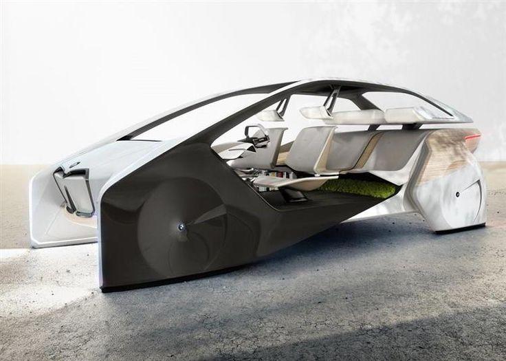 BMW i Inside Concept : le futur de la gamme électrique au CES