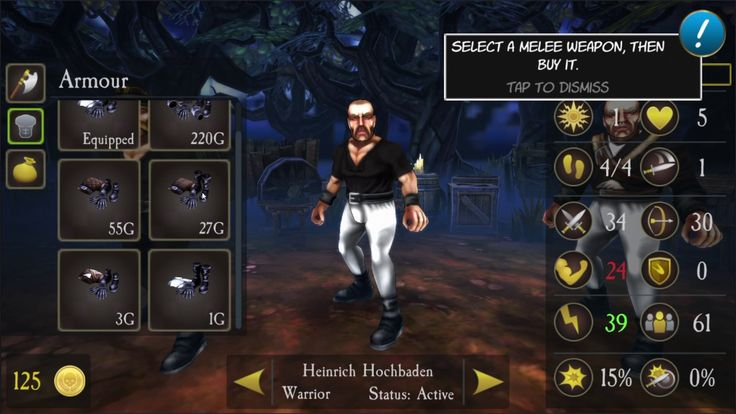 Mordheim Warband Skirmish STRATEGY GAME 1 - Mordheim Warband Skirmish is a Android Free-to-play Turn Based Strategy TBS Multiplayer Game featuring tactical turn-based gameplay with incredible action sequences