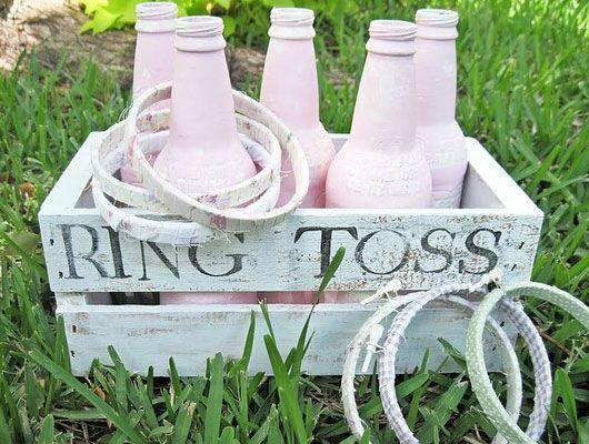 DIY Wedding Table Decoration Ideas - Outdoor Wedding Game - Click Pic for 46 Easy DIY Wedding Decorations
