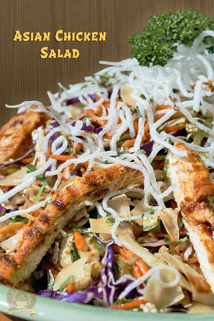 Grilled Chinese Chicken Salad Recipe - Grace Parisi
