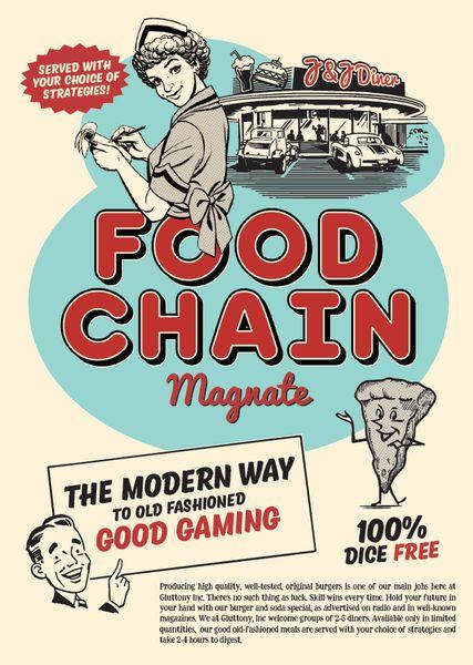 Food Chain Magnate (Fourth Print Run) - Apr 2016