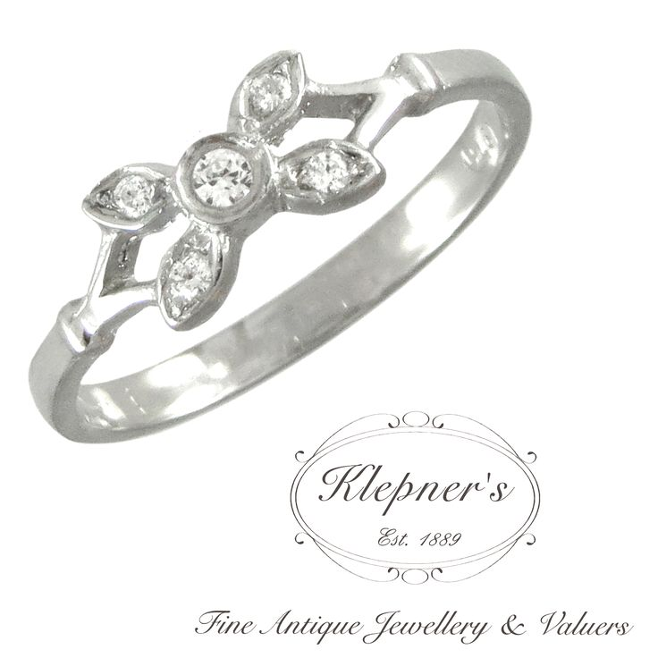 CUSTOM VINTAGE INSPIRED FLOWER RING. This classic vintage inspired ring can be customized to include any combination of diamonds and/or gemstones such as sapphires, rubies, emeralds, birthstones, anniversary stones, etc & can be crafted in 9ct or 18ct white, rose or yellow gold, platinum or sterling silver.  Prices vary depending on your unique specifications, please don't hesitate to contact us for a quote tailored for you. Visit us at www.klepners.com.au