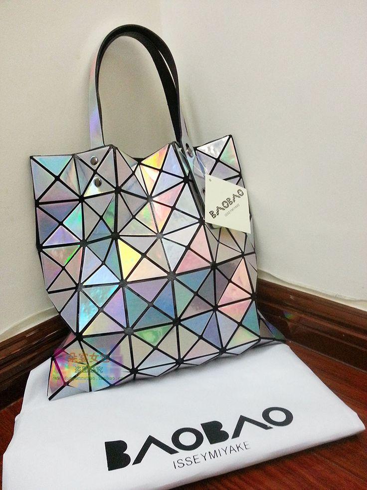 Issey Miyake bag BAO BAO ISSEY MIYAKE2014 Post new handbag shoulder bag women spike - Taobao