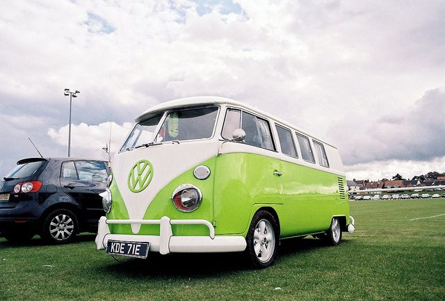 VW Van.  Classic. Traveled 6,000 miles in a Gold one - 1970 summer to Canada up Route 1 California