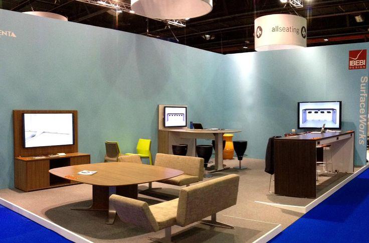Stand IBEBI in Index-Workspace in Dubai #index #dubai #ibebi #table #officetable #workspace #chairs