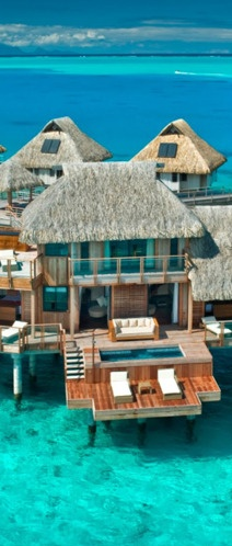 One lounge chair for me and one for you!Nui Resorts, Buckets Lists, Favorite Places, Dreams Vacations, Hilton Bora, Best Quality, Honeymoons, Travel, Borabora