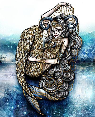 Capricorn ✭ Sea Goat Girl