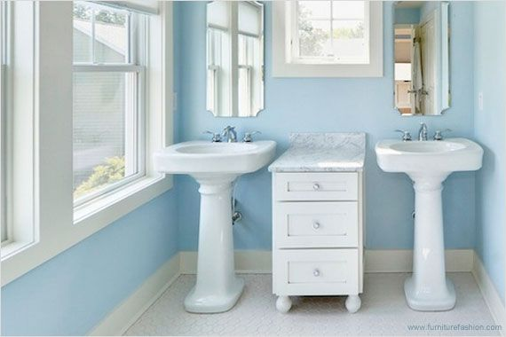 17 Best Images About Pedestal Sinks Double On Pinterest Pedestal Skylights And Blue Bathrooms