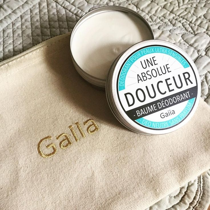 """Gaiia on Instagram: """"Notre Déodorant crème Gaiia neutre sans parfum est un baume déodorant naturel pour les peaux intolérantes et réactives. Il neutralise…"""" • Instagram"""