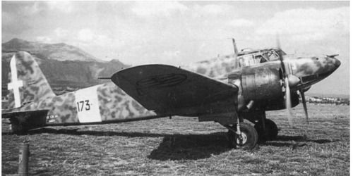 Scout and light bomber Fiat CR.25