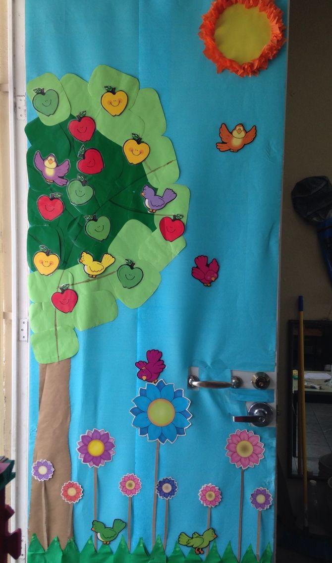 17 mejores im genes sobre puertas en pinterest for Puertas decoradas primavera