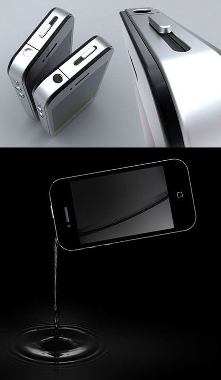 iphone flask, Jae would love this
