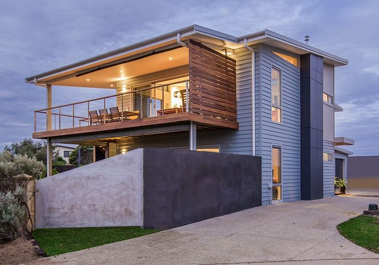 Coastal double storey gem drinks in the views | Scyon Wall Cladding And Floors