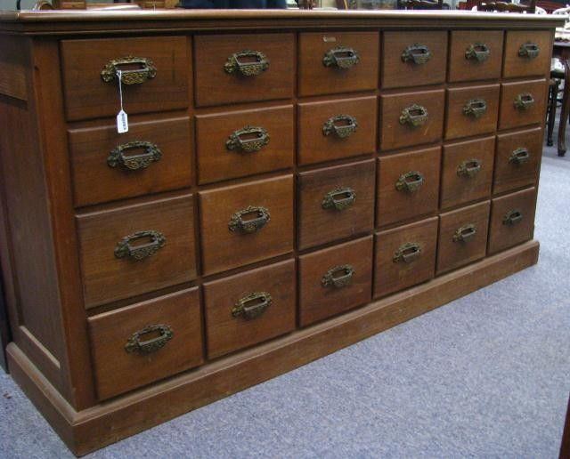 293: Antique General Store Hardware Cabinet on - 71 Best Antique General Store Stuff Images On Pinterest General