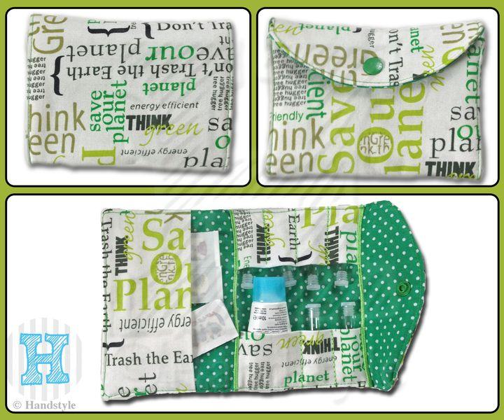 Globulitasche *Notfalltasche* Erste Hilfe von Handstyle auf DaWanda.com