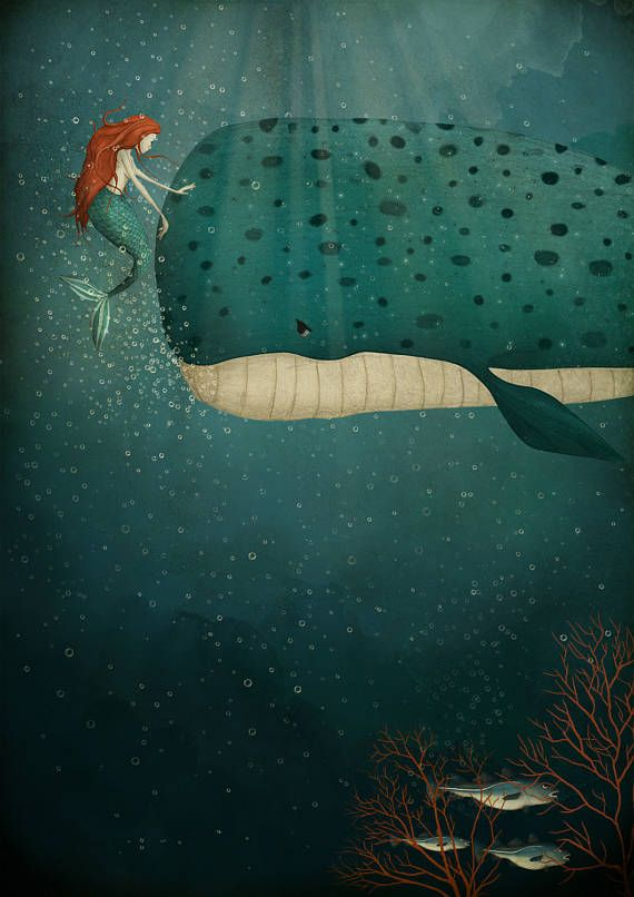 Under the sea Art print 3 different sizes