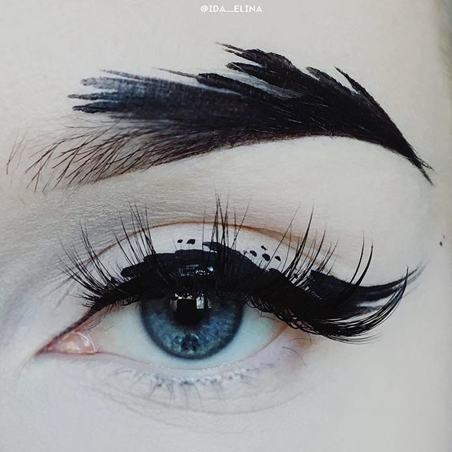 makeup beauty eyeshadow mascara eyebrows inspiration smokey eyes tutorial makeup idea lips eyeliner