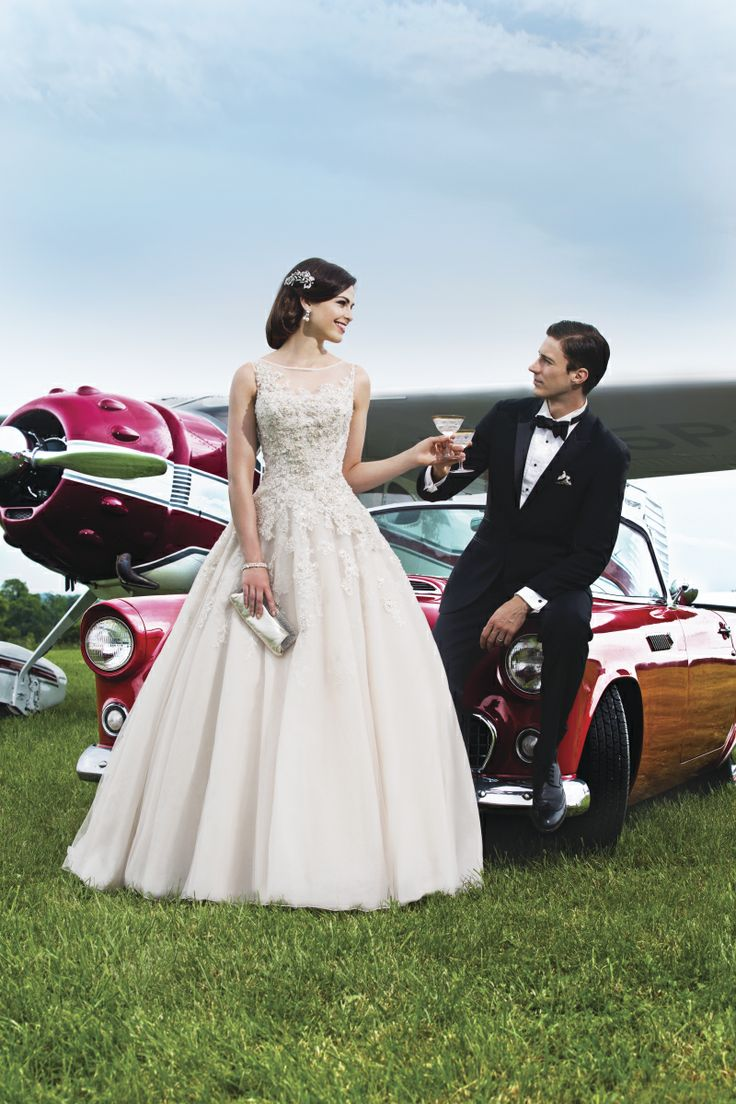 I Just Entered The And Inson Alexander Contest To Win A Free Wedding Dressed Think This Great Idea Clic Yet Elegant Car Goes With My