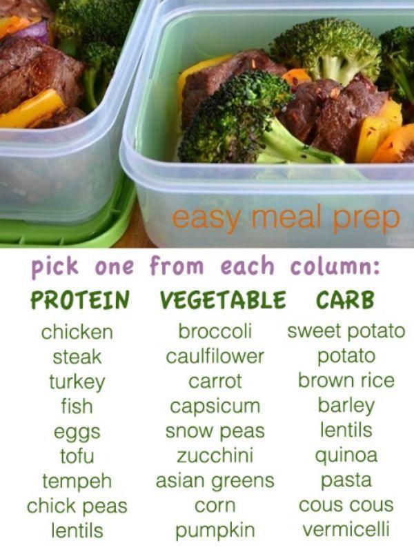 Easy meal prep
