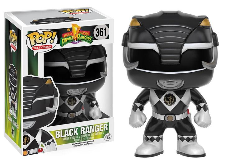 POP! Vinyl Power Rangers Black Ranger