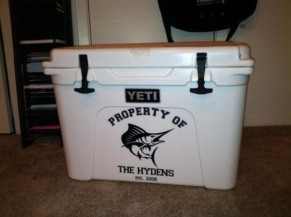 Custom YETI Cooler Decals for sizes 2065 by HillCountrySigns, $20.00