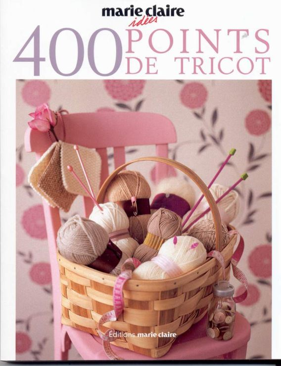Gallery.ru / Photo # 1 - Marie Claire. Idees 400 Points de Tricot (2) - ell