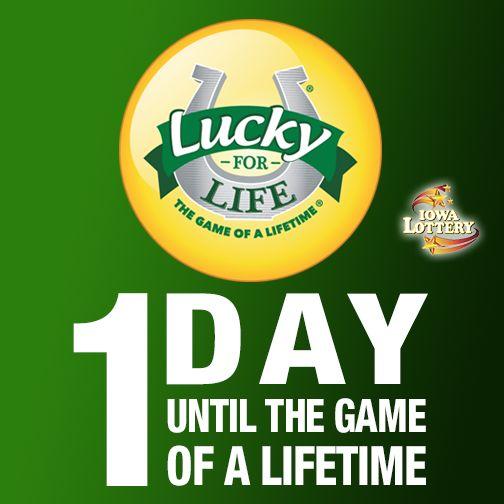 #LuckyForLife