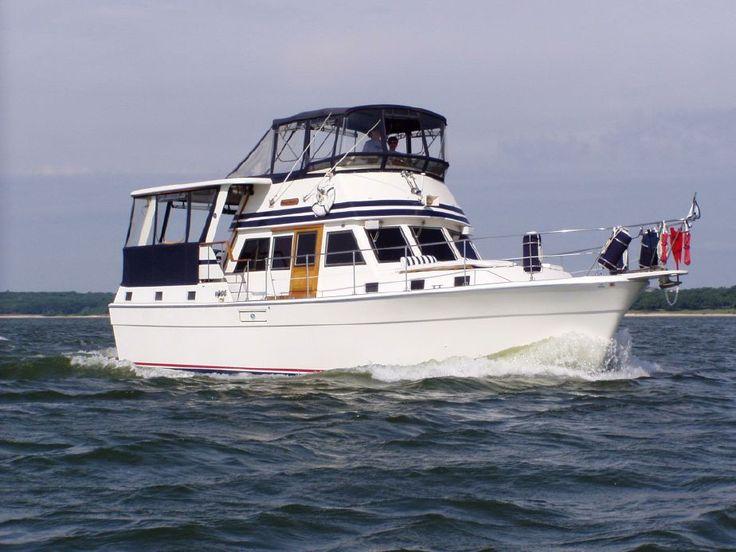 1978 Gulfstar 44 Motor Cruiser Power Boat For Sale www