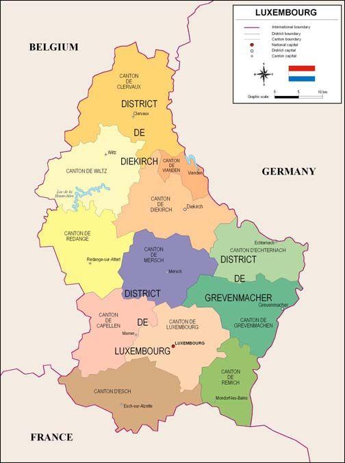 Luxemburgo es un pais conocido oficialmente como el Gran Ducado de Luxemburgo es un pais sin salida al mar en el oeste de Europa, limita con Belgica, Francia y Alemania. Tiene dos regiones principales: la Oesling en el norte como parte del macizo de las Ardenas y la Gutland en el sur. Luxemburgo tiene una poblacion de 524 853 (a partir de octubre de 2012) en un area de 2.586 km cuadrados