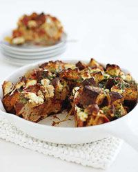 tomato and feta cheese strata strata recipesbrunch - Cheese Strata Recipes Brunch