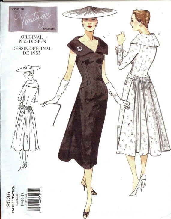86 best Vogue Vintage Line Pattern Catalog images on Pinterest ...