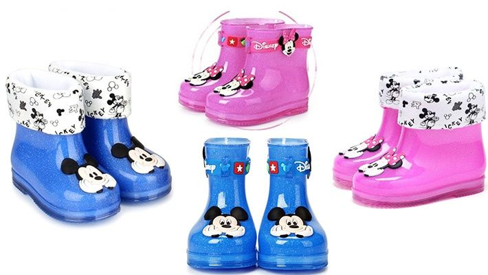 50% off Mickey / Minnie Mouse Kids Rain Boots ($20 instead of $40)