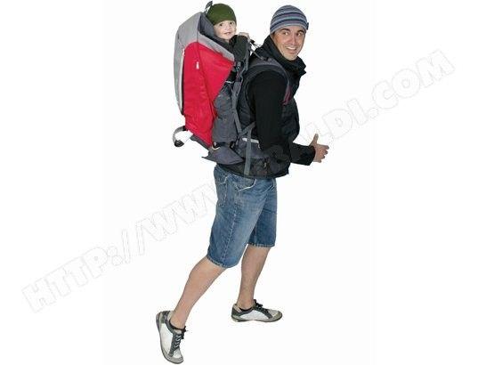 Porte bébé dorsal PHIL & TEDS ESCAPE rouge
