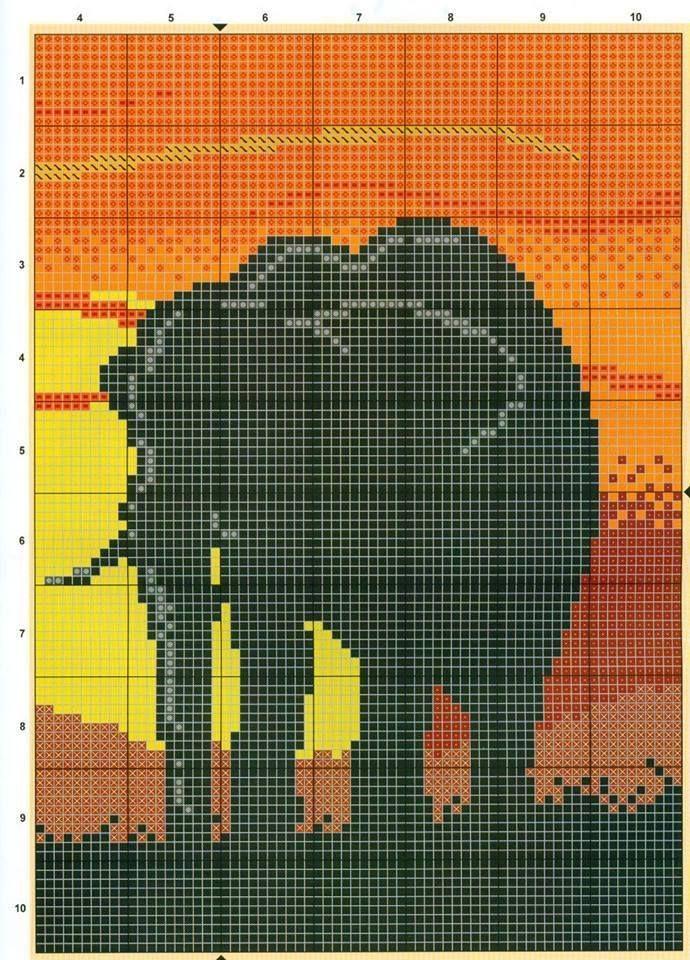 79 best Point de Croix Afrique images on Pinterest | Africa, Punto de cruz and Cross stitch patterns