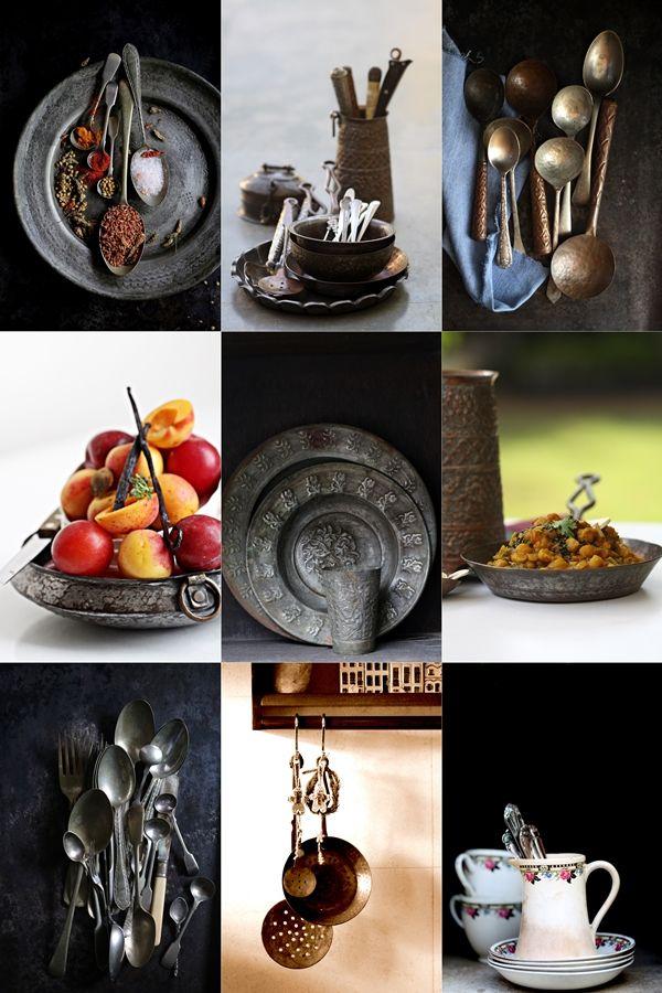 Essen Requisiten, Foodstyling, Lebensmittel Fotografie, Indiay