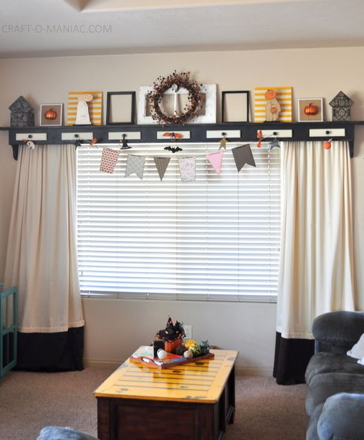 Wood Valance Over Kitchen Sink: 1000+ Ideas About Shelf Over Window On Pinterest
