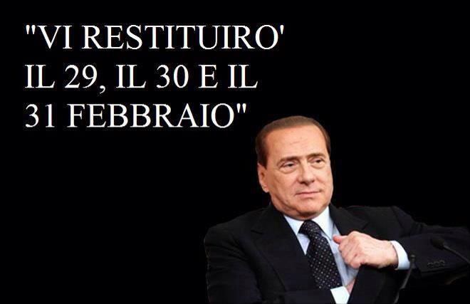 Nel pieno della campagna elettorale Silvio Berlusconi promette di restituire l'Imu il meme impazza già sui social network. E' lo scherzo del momento: cosa vorreste che vi venisse restituito? In questa galleria una selezione dei fotomontaggi creati per l'occasione.