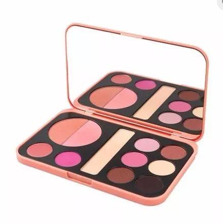 bh cosmetics forever nude- paleta de sombras,labiales, rubor