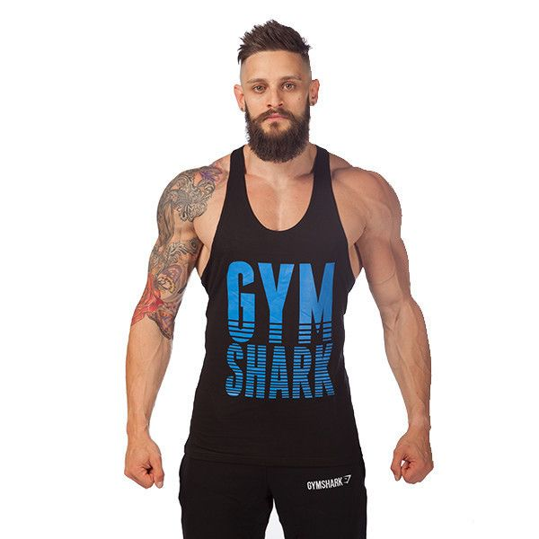 2016 gymshark tank top men Cotton Sleeveless sport shirt Gym bodybuilding vest Fitness new brand tracksuits muscle clothes