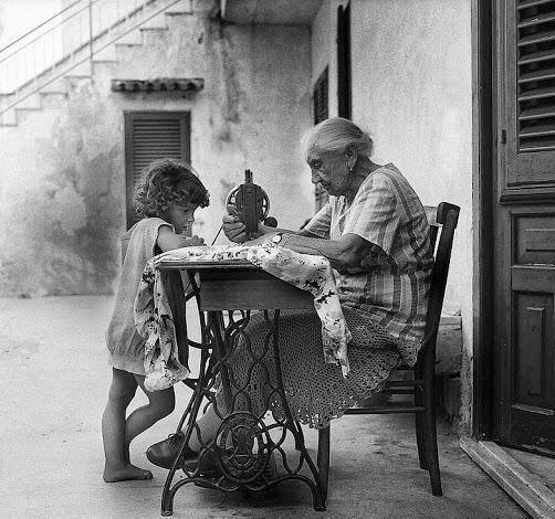 mia nonna è stata la prima ad insegnarmi..