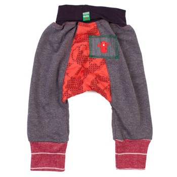 OISHI-M - Fun Lovin' Track Pant Grey/Red