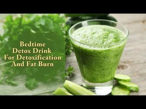 Bedtime Drink For Detoxification And Fat Burn