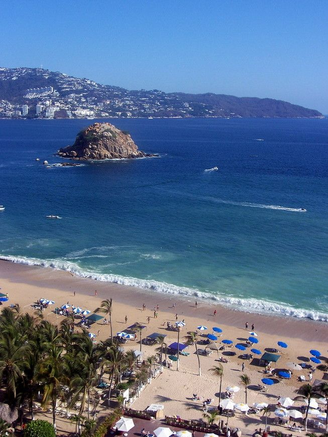 Пляжи Акапулько, Мексика, Акапулько, Мексика — Туристер.Ру